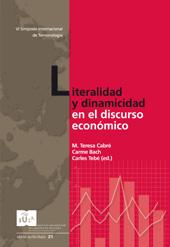 Planificació i difusió de terminologia en els programes de divulgació econòmica de Televisió de Catalunya : el cas de Valor afegit - Casals i Martorell, Daniel - Girona : Documenta Universitaria, 2008.