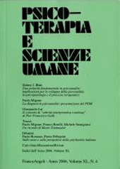Psicoterapia e scienze umane -  - Milano : Franco Angeli