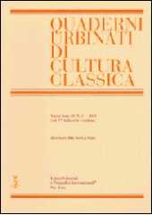 Properzio 2, 3, 22. - Giardina, Giancarlo - Pisa : [S.l.] : Istituti editoriali e poligrafici internazionali  ; Fabrizio Serra, 2003.