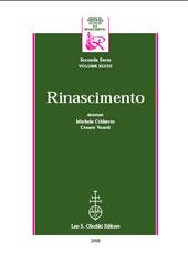 Rinascimento : rivista dell'Istituto Nazionale di Studi sul Rinascimento : seconda serie, XXXVI, 1996 -  - Firenze : L.S. Olschki, 1996.