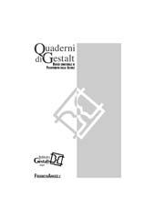 Quaderni di Gestalt : rivista semestrale di psicoterapia della Gestalt