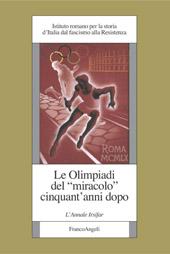 """Le Olimpiadi del """"miracolo"""" cinquant'anni dopo : l'Annale Irsifar"""