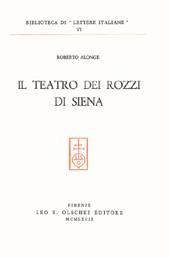 Il teatro dei Rozzi di Siena