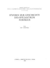 Studien zur Geschichte des spätantiken Porträts