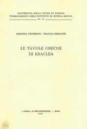 Le tavole greche di Eraclea