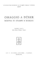 Omaggio a Dürer : mostra di stampe e disegni