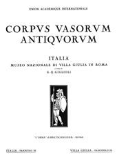 Museo nazionale di Villa Giulia in Roma : fascicolo II