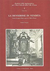 La devozione in vendita : furti di opere d'arte sacra in Valle d'Aosta - Vicquéry, Daniela - Roma : L'Erma di Bretschneider, 1987.