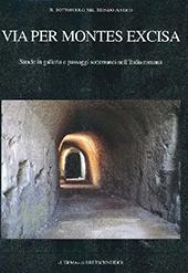 Via per montes excisa : strade in galleria e passaggi sotterranei nell'Italia romana