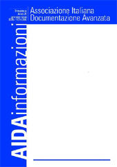 Tappe salienti della Documentazione nel periodo 1983-2003 nella rassegna dei convegni AIDA, ASIS e FID. - Basili, Carla - Roma : AIDA-Associazione Italiana per la Documentazione Avanzata, 2003.
