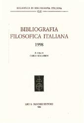 Bibliografia filosofica italiana, 1998