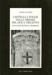Capitelli a foglie nella Firenze del Due e Trecento : fogliame rustico e barbaro
