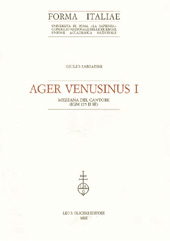 Ager Venusinus 1. : Mezzana del Cantore, IGM 175 2. SE