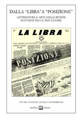 Dalla Libra a Posizione : letteratura e arte nelle riviste novaresi tra le due guerre : atti del 1. Convegno ...
