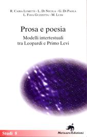 Prosa e poesia : modelli intertestuali tra Leopardi e Primo Levi