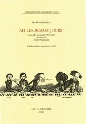 Ah, les beaux jours : cronache musicali 1965-2002