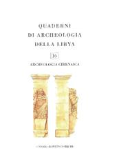 """Alcune osservazioni sul Pritaneo arcaico di Cirene - Purcaro, Valeria - Roma : """"L'Erma"""" di Bretschneider, 2002."""