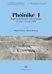Phoinike I : rapporto preliminare sulla campagna di scavi e ricerche 2000