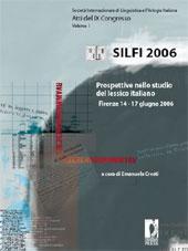 Dare due nomi alla stessa cosa : l'eufemismo da parte del parlante nell'italiano di oggi - Pirazzini, Daniela - Firenze : Firenze University Press, 2008.
