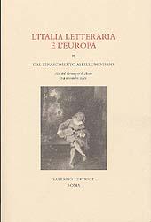 L'Italia letteraria e l'Europa