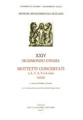 Mottetti concertati a 2, 3, 4, 5 e 6 voci : novi concentus ecclesiastici e liber secundus sacrorum concentuum : 1610