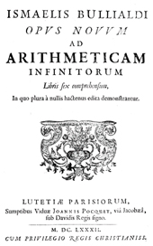 """""""Ad Arithmeticam inifnitorum"""" - Liber II. """"De triangularibus et Quadratis"""" - Propositio I.-LIX. - Boulliau, Ismael, 1605-1694 - [S.l.] : Il Giardino di Archimede, 1682."""