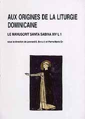 """L'antienne """"Media Vita"""" dans les premiers manuscrits dominicains - Claire, Jean O.S.B. - Rome : Paris (F) : École française de Rome  ; CNRS, 2004."""