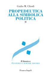 Propedeutica alla simbolica politica