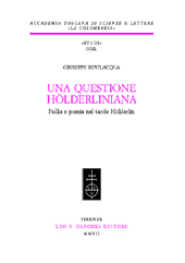 Una questione hölderliniana : follia e poesia nel tardo Hölderlin