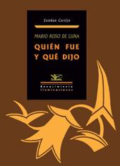 Mario Roso de Luna, quién fue y qué dijo
