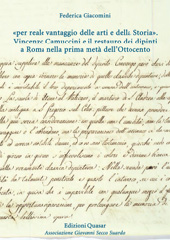 Per reale vantaggio delle arti e della storia : Vincenzo Camuccini e il restauro dei dipinti a Roma nella prima metà dell'Ottocento