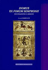 Domus di Forum Sempronii : decorazione e arredo