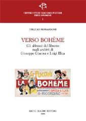 Verso Bohème : gli abbozzi del libretto negli archivi di Giuseppe Giacosa e Luigi Illica