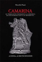 Camarina : le terrecotte figurate e la ceramica da una fornace di V e IV secolo a.C. - Pisani, Marcella - Roma : L'Erma di Bretschneider, 2008.