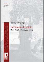La materia e lo spirito : Mario Ridolfi nel paesaggio umbro