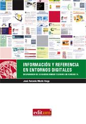 Información y referencia en entornos digitales : desarrollo de servicios bibliotecarios de consulta