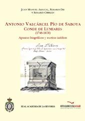 Antonio Valcárcel Pío de Saboya, conde de Lumiares (1748-1808) : apuntes biográficos y escritos inéditos