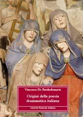 Origini della poesia drammatica italiana