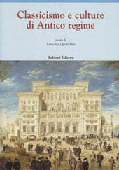Classicismo e culture di Antico regime