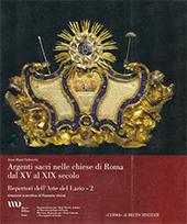 Argenti sacri nelle chiese di Roma dal XV al XIX secolo