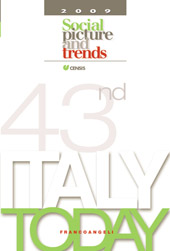 Italy today : social picture and trends, 2009