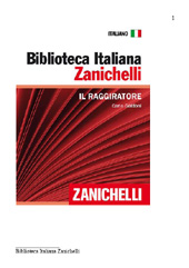 Il raggiratore - Goldoni, Carlo - Bologna : Zanichelli, 2011.