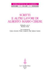 Scritti e altri lavori di Alberto Mario Cirese