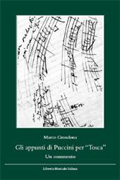 Gli appunti di Puccini per Tosca : un commento