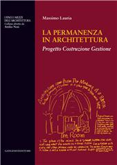 La permanenza in architettura : progetto, costruzione, gestione