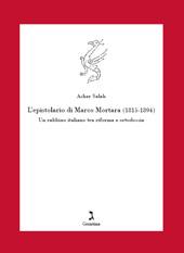 L'epistolario di Marco Mortara, 1815-1894 : un rabbino italiano tra riforma e ortodossia