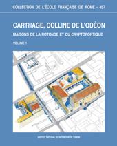 Table des matières des volumes 1 et 2. -  - Roma : École française de Rome, 2012.