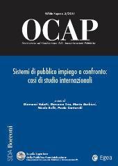 OCAP : Osservatorio sul Cambiamento delle Amministrazioni Pubbliche : 3/2011