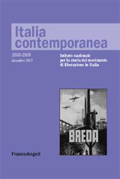 La fabbrica d'armi Breda di Roma : composizione e mobilità operaia 1936-1943 - Villani, Luciano - Milano : Franco Angeli, 2012.