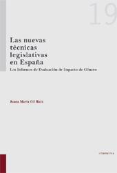 Las nuevas técnicas legislativas en España : los informes de evaluación de impacto de género